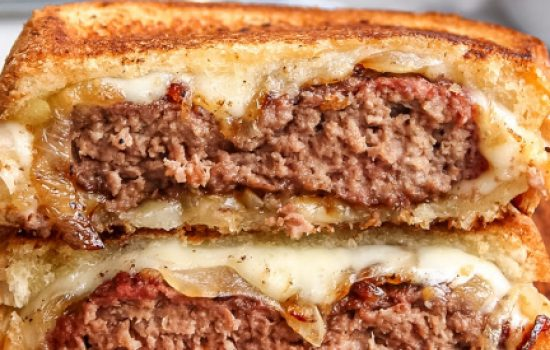 Classic Patty Melt Sandwich Recipe