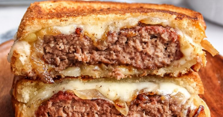 Classic Patty Melt Sandwich
