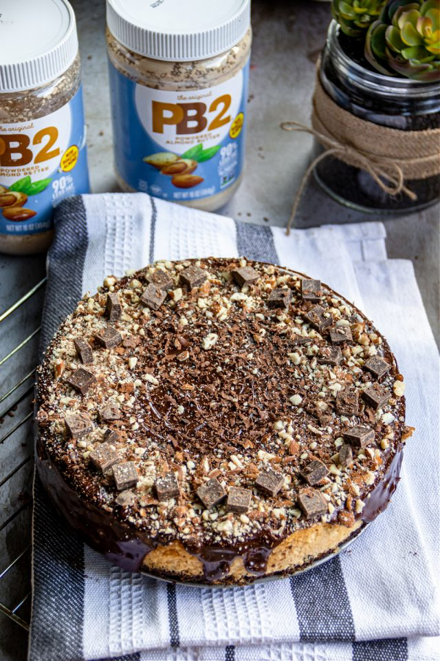 Cheesecake with PB2 Powdered Almond Butter