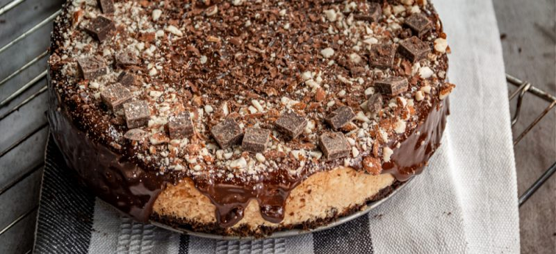 Recipe for tasty and easy Cheesecake with PB2 Powdered Almond Butter